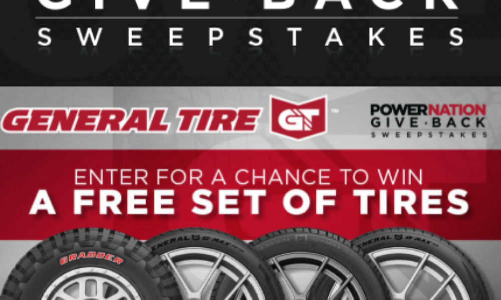 Win a Set of 4 General Tires
