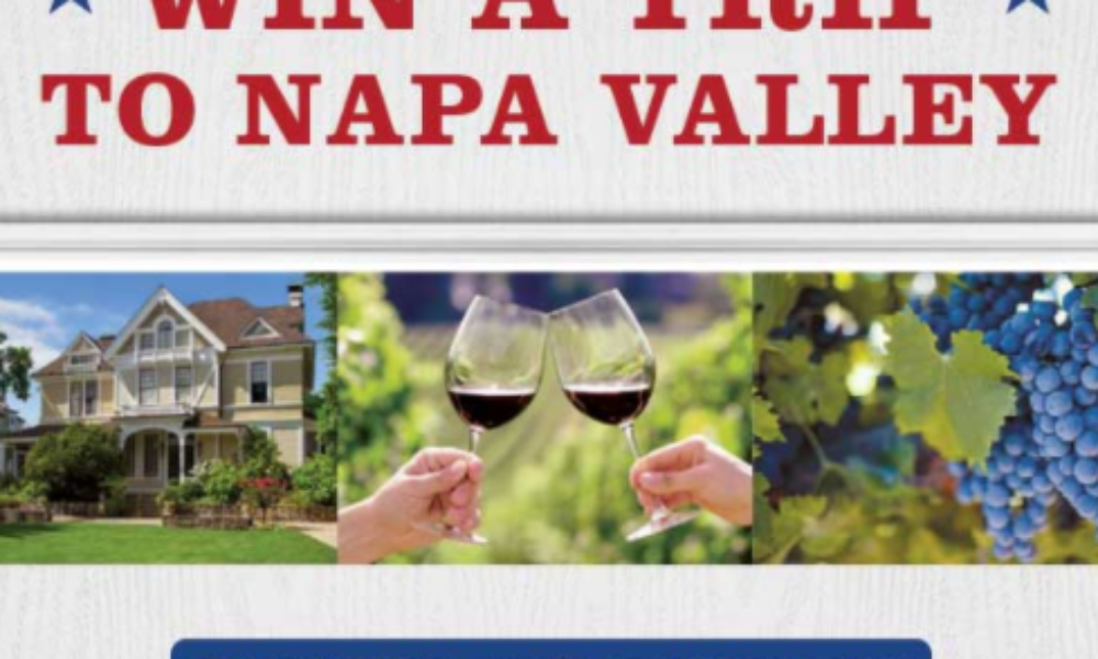 Win a Trip to Napa Valley from Sutter Home