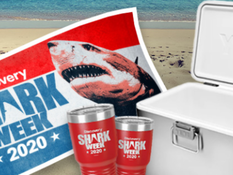 Win a YETI Cooler + Shark Week Towel