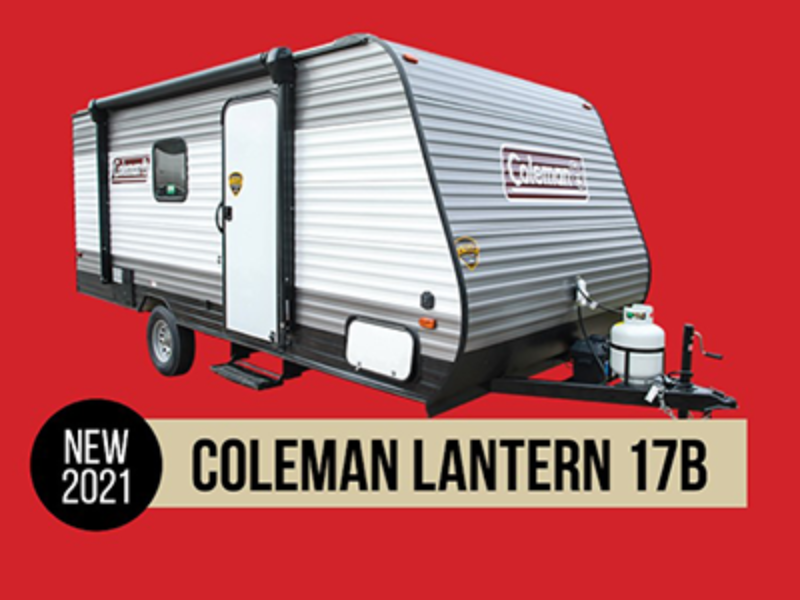 Win a Coleman Travel Trailer