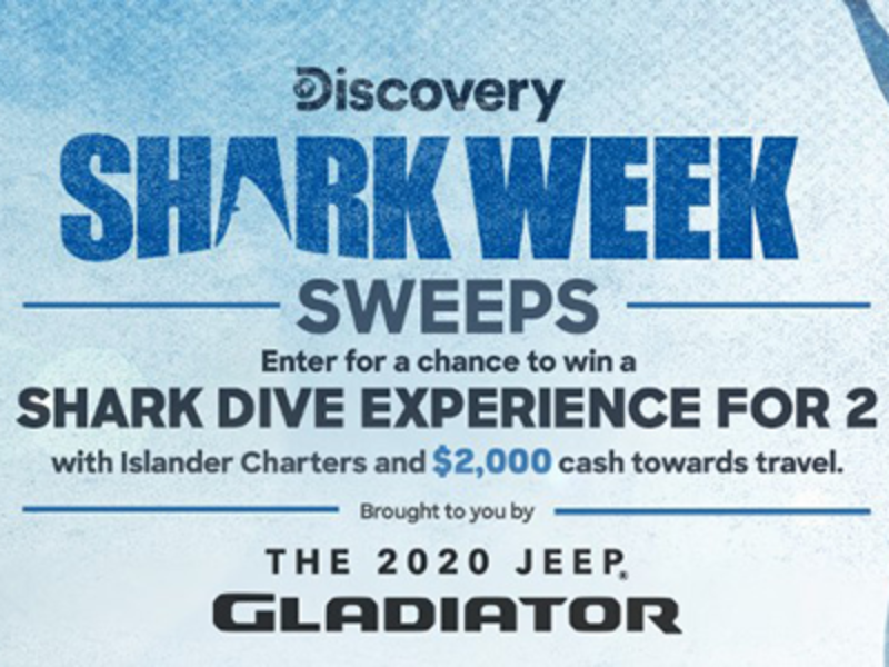 Win a Shark Dive Experience from Discovery