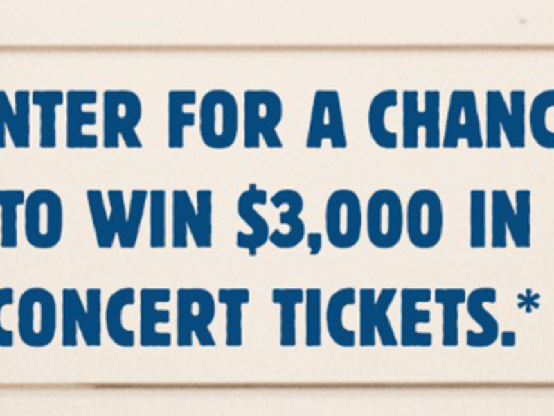 Win $3K in Concert Tickets from Jersey Mike's