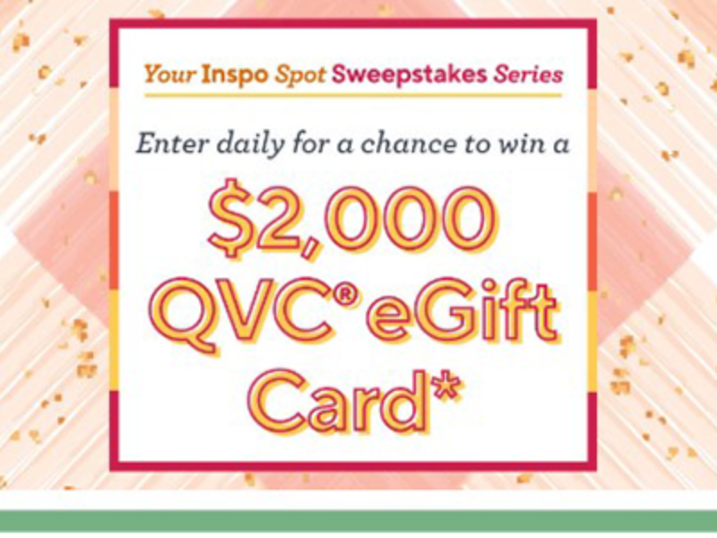 Win a $2K QVC e-Gift Card