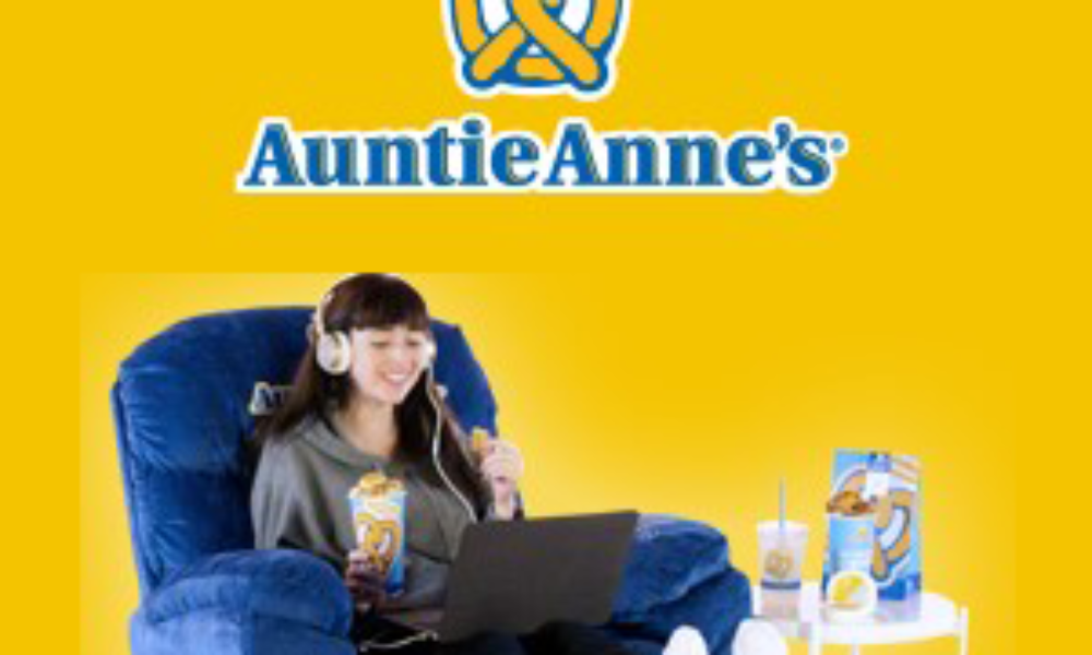 Win 1-Year of Auntie Anne's + Recliner