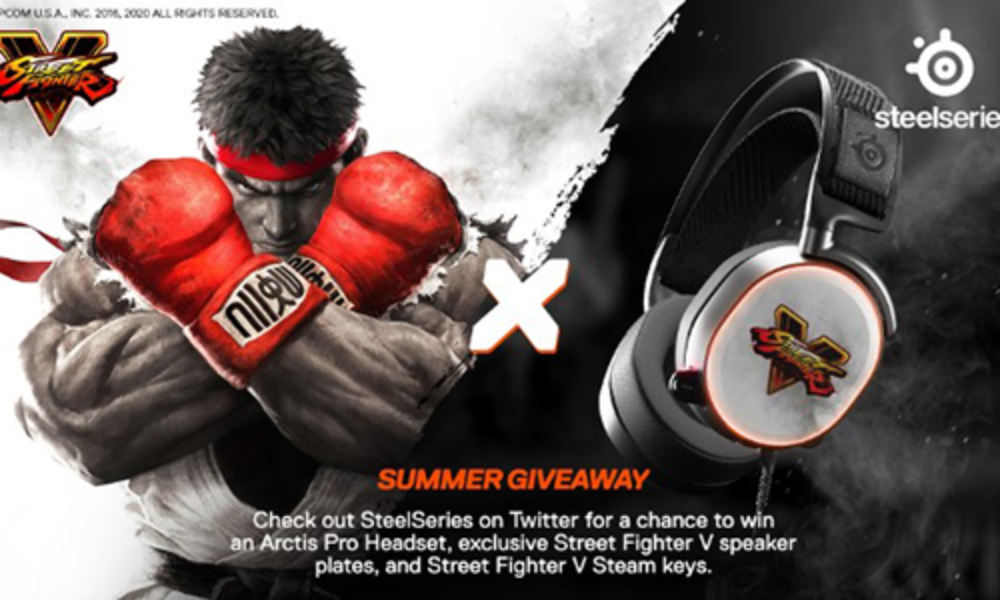 Win an Arctis Pro Headset & Street Fighter V
