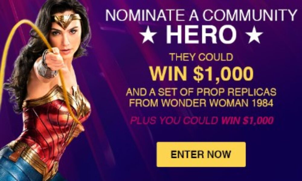 Win $1K and Wonder Woman Props from Valpak