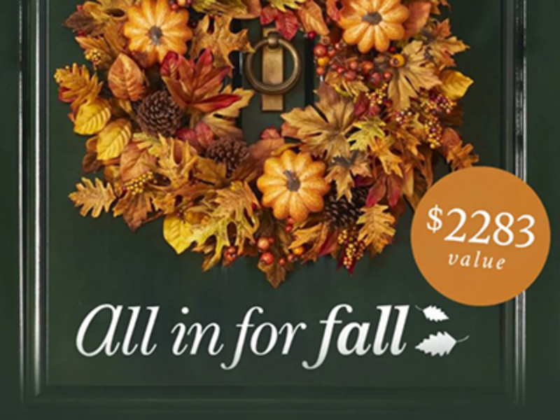 Win a $2K Balsam Hill Prize Package