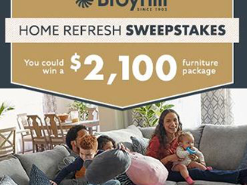 Win a $2K Broyhill Furniture Package from Big Lots