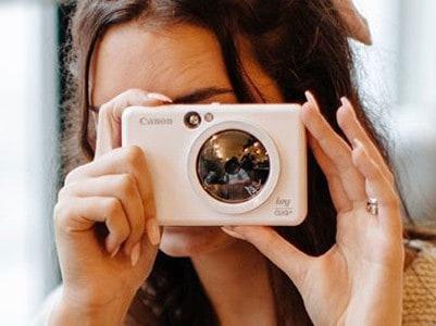Win 1 of 2,500 Canon IVY CLIQ+ Instant Cameras