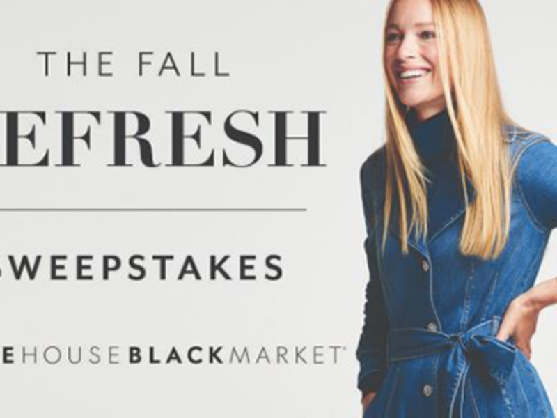 Win a $2,500 White House Black Market Gift Card