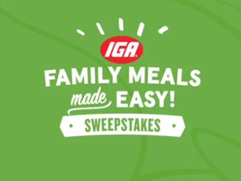 Win a $1K VISA Gift Card from IGA
