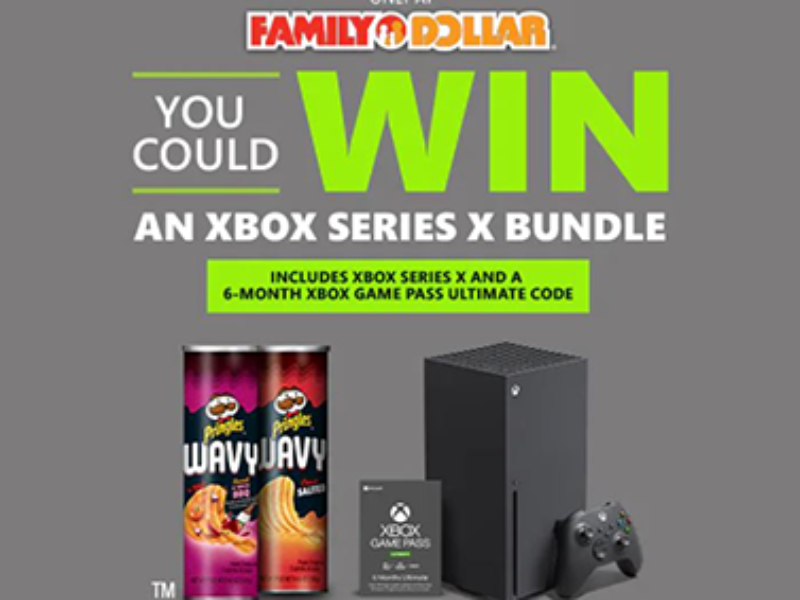 Win an Xbox Series X Bundle from Kellogg's Family Rewards