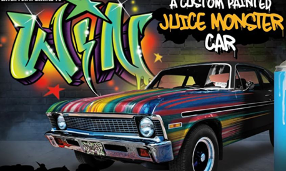 Win a Custom Painted 1972 Chevy Nova