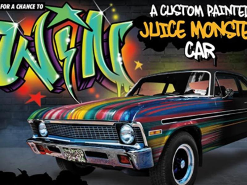 Win a Custom Painted 1972 Chevy Nova