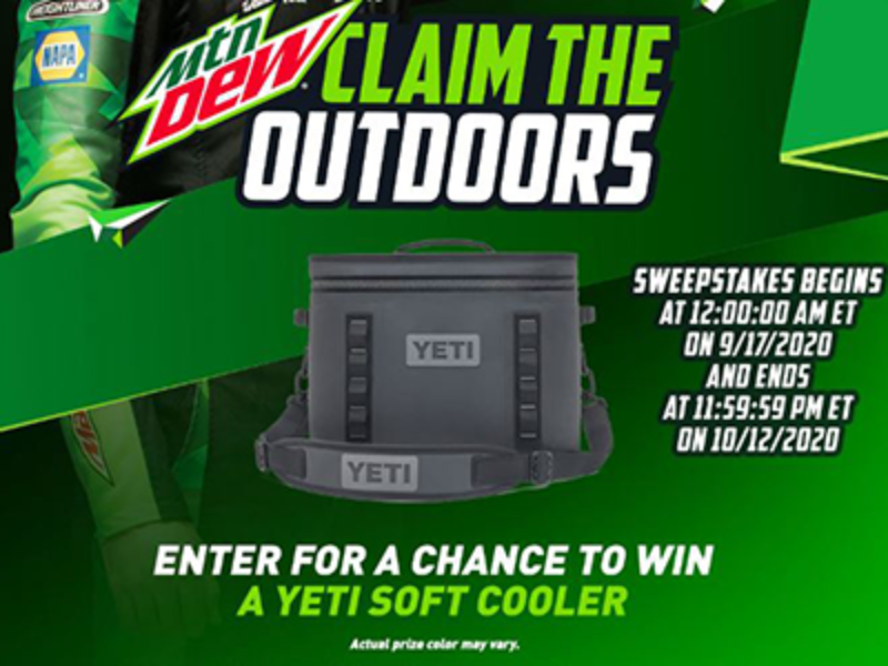 Win a YETI Soft Cooler from MTN DEW