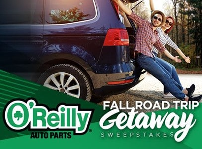 Win $1K from O'Reilly Auto Parts