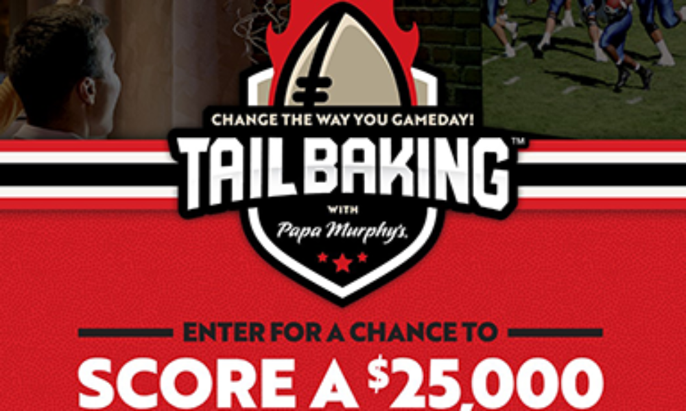 Win a $25K Home Gameday Setup from Papa Murphey's