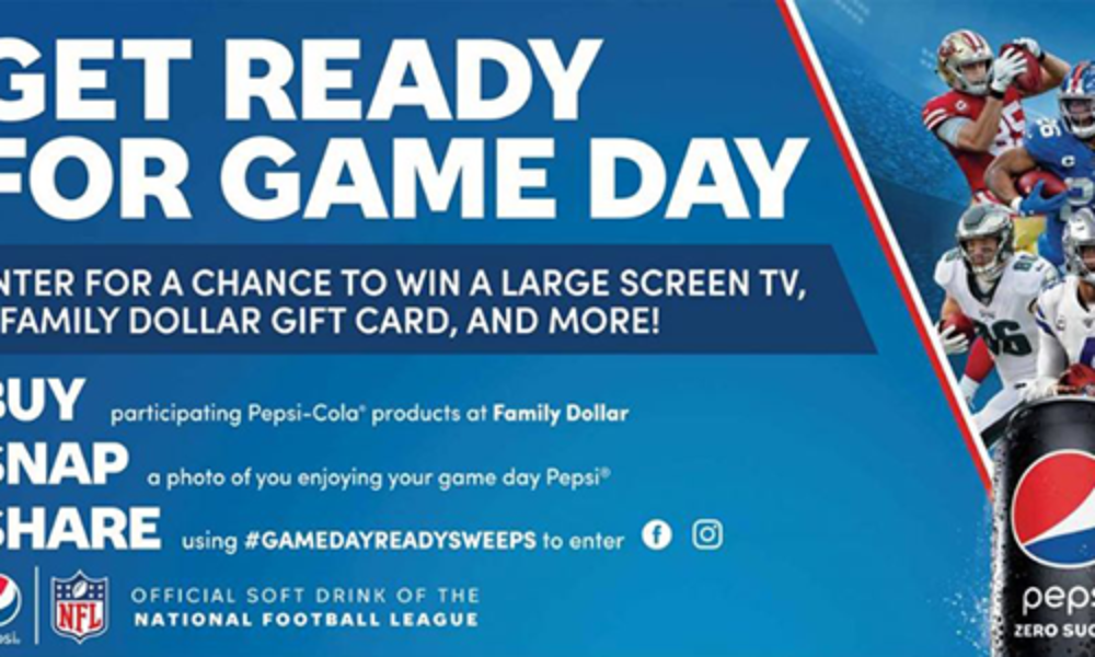 "Win a Samsung 65"" 4K HDTV & Family Dollar Gift Card"