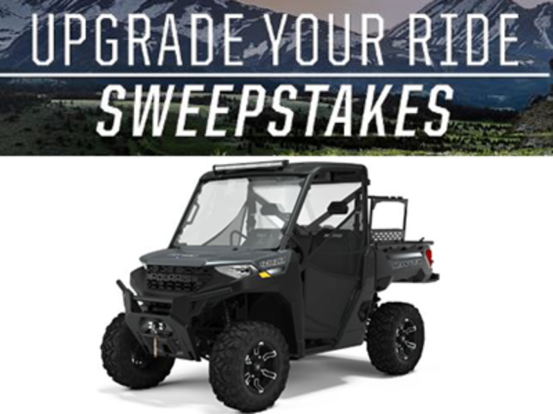 Win a 2021 Polaris Ranger 1000 Premium