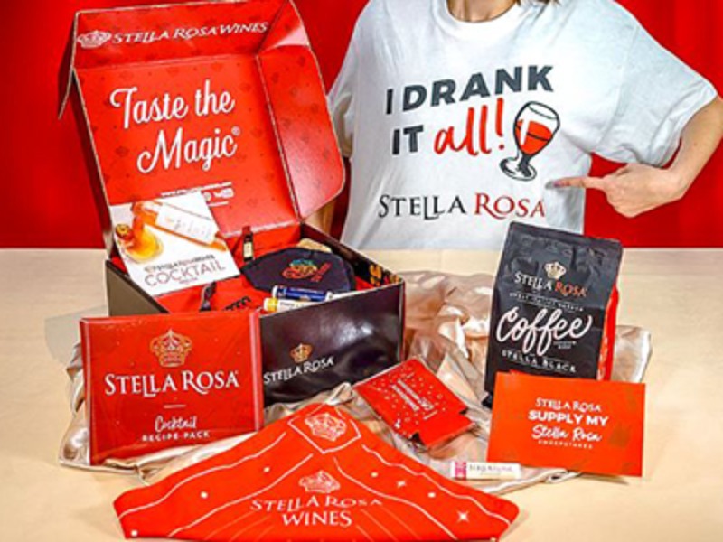 Win a $500 VISA Gift Card from Stella Rosa