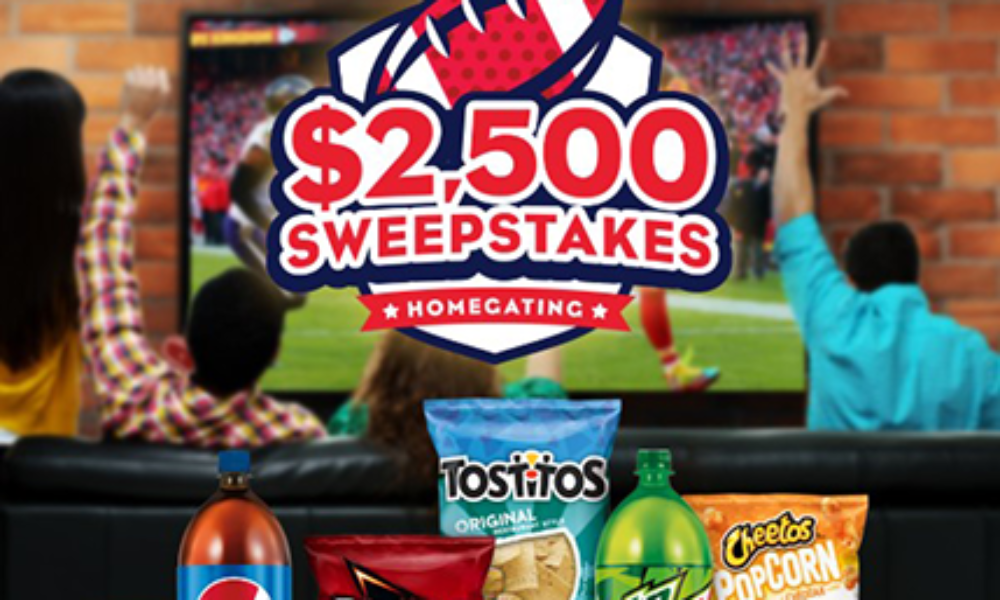 Win $2,500 for Homegating