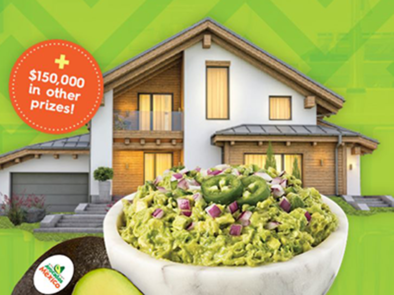 Win a $500K Home from Avocados From Mexico