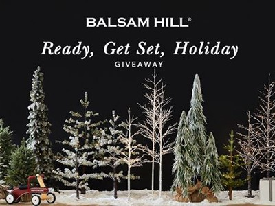 Win a Balsam Hill Holiday Decoration Set