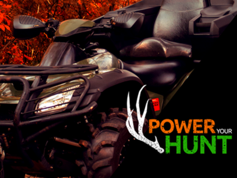 Win an ATV or Hunting Prize Package from Batteries Plus