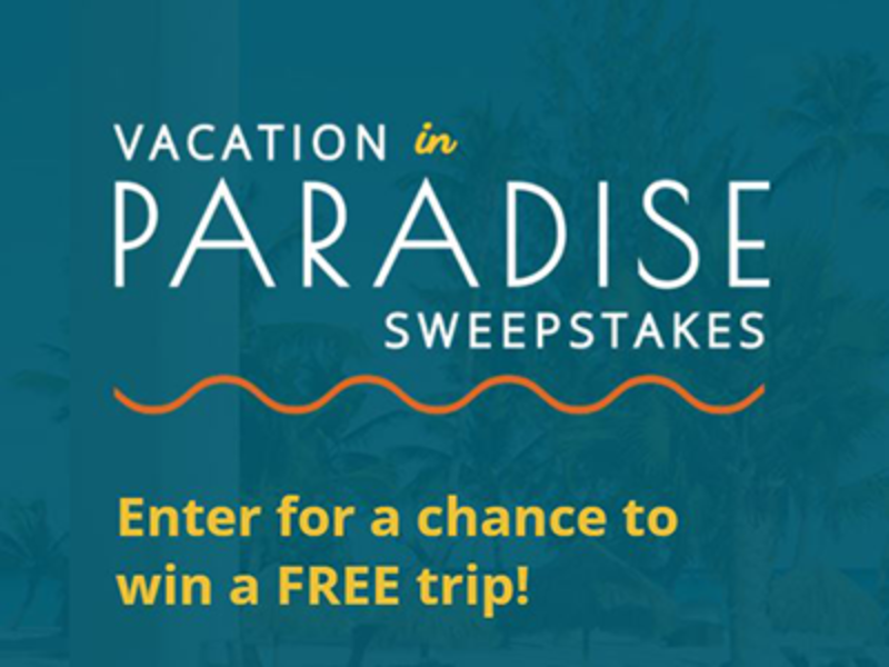 Win a Vacation + $2K VISA Gift Card