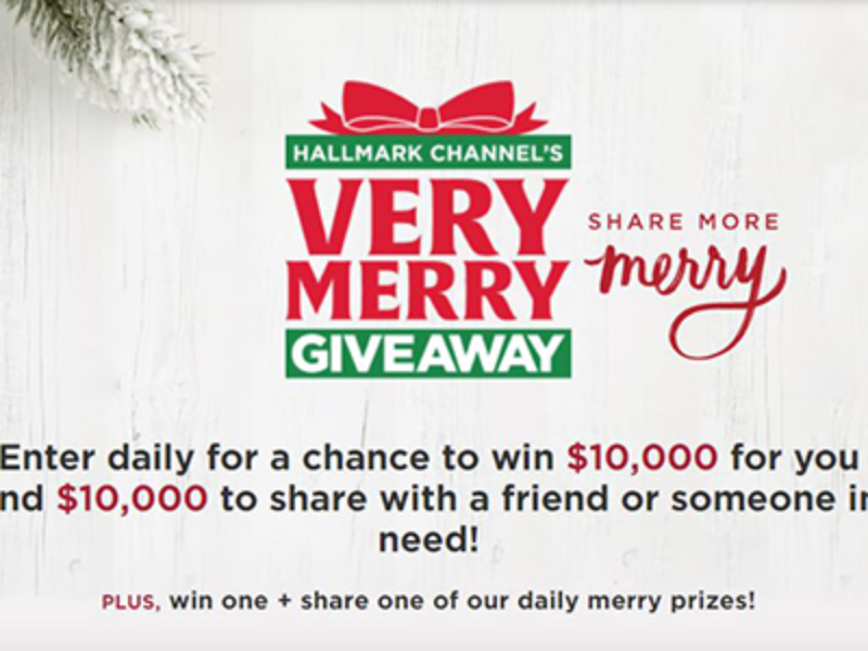 Win $10K for You & $10K for a Friend from Hallmark Channel