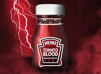 Win HEINZ Tomato Blood Ketchup