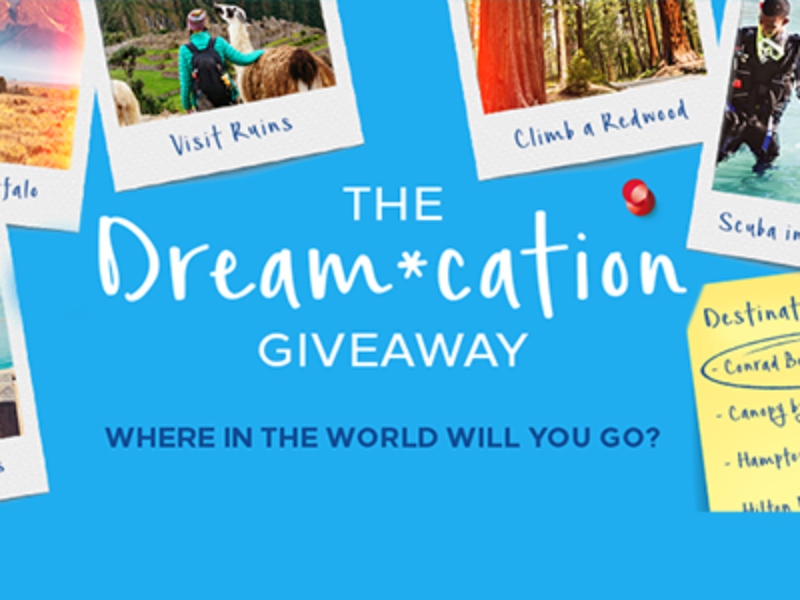 Win a $25K Vacation from Hilton