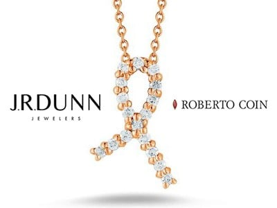 Win a Roberto Coin Diamond Ribbon Necklace
