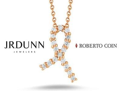 Win a Roberto Coin Diamond Ribbon Necklace