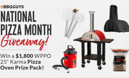 Win a WPPO Karma Pizza Oven Prize Pack