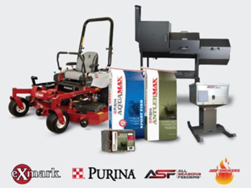 Win a Exmark Mower, Smoker BBQ Pit & More