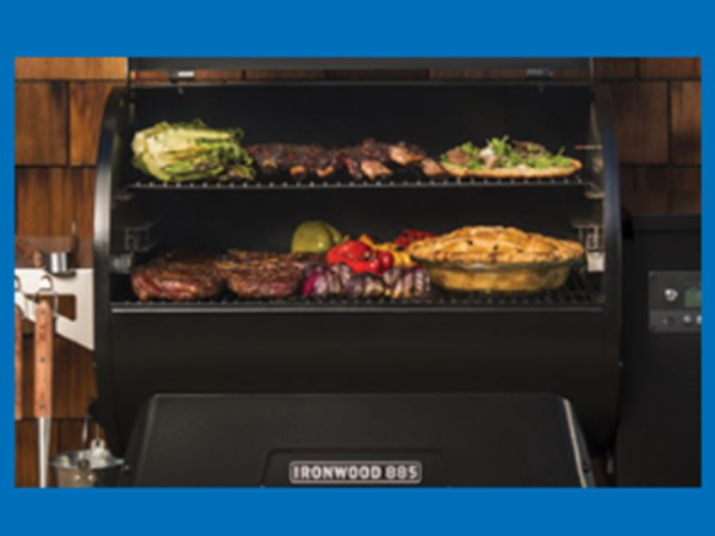 Win a Traeger Ironwood Grill from Destination Tailgate