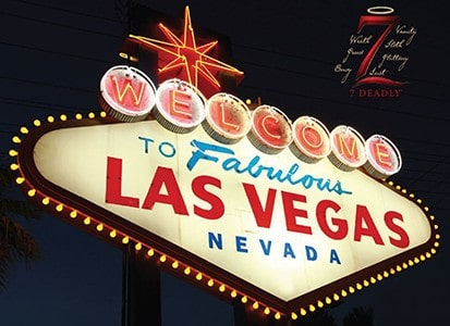 Win 1 of 5 Trips to Sin City