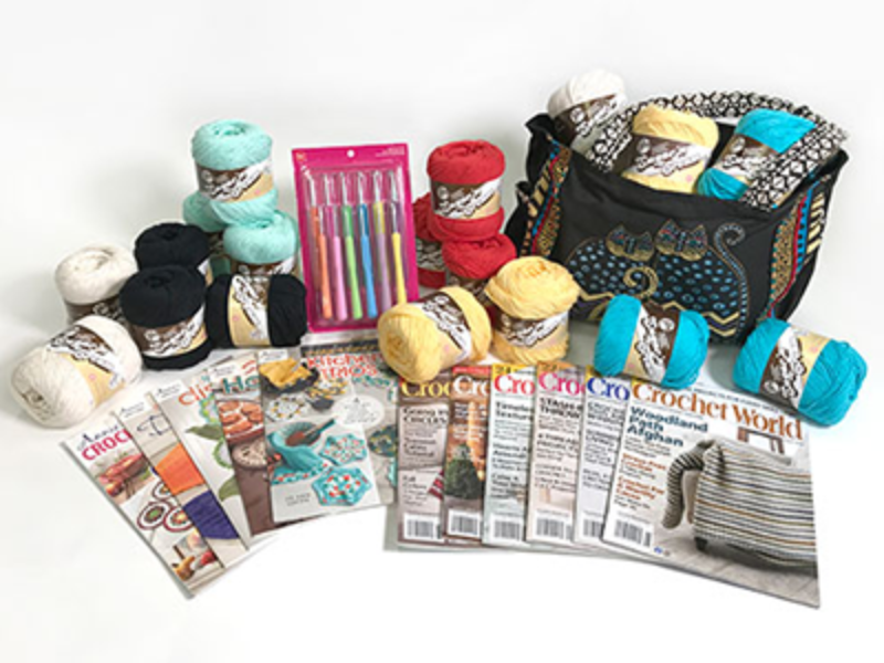 Win a Sunny Days Crochet Prize Package