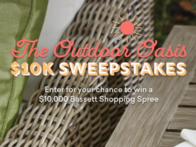 Win a $10K Bassett Shopping Spree