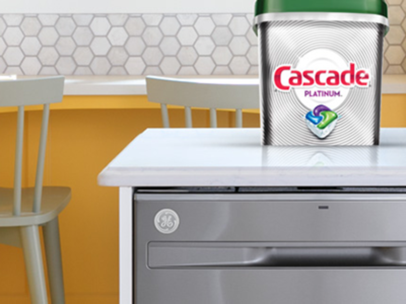 Win a GE Dishwasher from Cascade