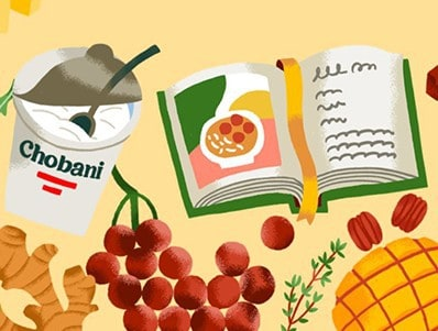 Win 1 of 50 Chobani Greek Cookbooks