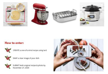 Win a KitchenAid Stand Mixer or All-Clad Slow Cooker