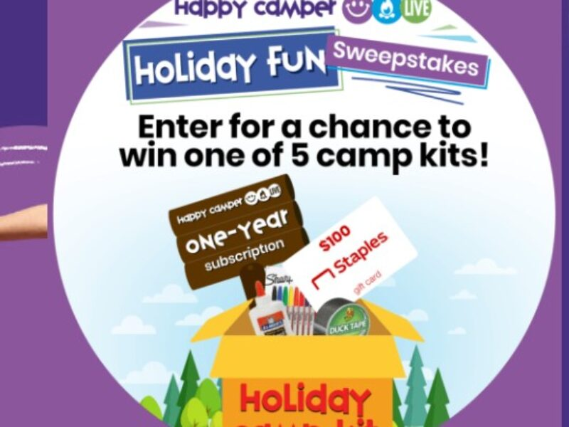 Win a $100 Staples Gift Card + Happy Camper Live Subscription