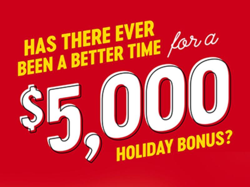 Win $5K from Bojangles