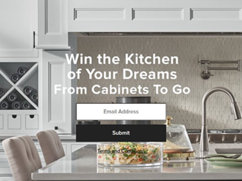 Win a $5K Cabinets To Go Gift Card