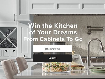 Win a Dream Kitchen from Cabinets To Go