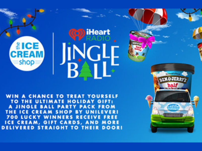 Win a $100 Gift Card + Ice Cream Prize Package