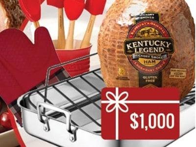 Win $1,000 + Kitchenware from Kentucky Legend