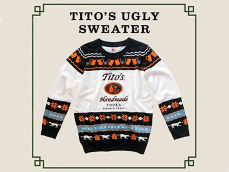 Win 1 of 1,000 Tito's Ugly Sweaters